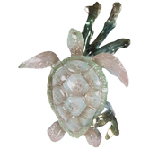 Tan Turtle Metal Napkin Ring