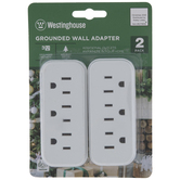 3-Outlet Grounded Adapters