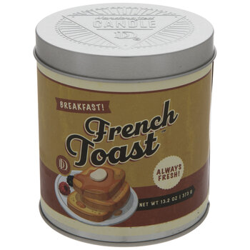 French Toast Candle Tin