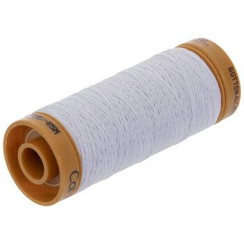 2100 White Button & Carpet Thread