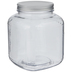 Square Glass Mason Jar - 128 Ounce