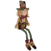 Give Thanks Scarecrow Shelf Sitter