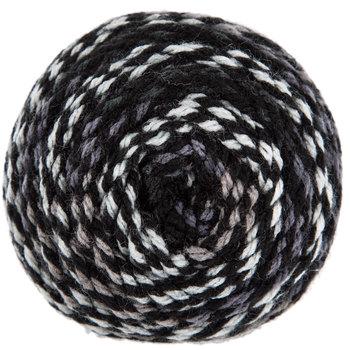 Gray & Black Print I Love This Yarn