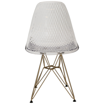 Diamond Patterned Chair