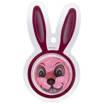 Pink Light Up Easter Bunny Bouncing Ball
