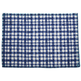 Blue & White Gingham Placemat