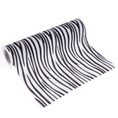 Faux Zebra Skin Ribbon - 8""
