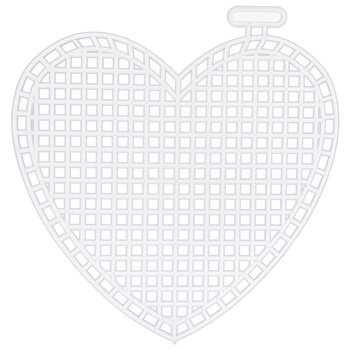 Heart Plastic Canvas Shapes