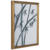 Watercolor Bamboo Framed Wall Decor
