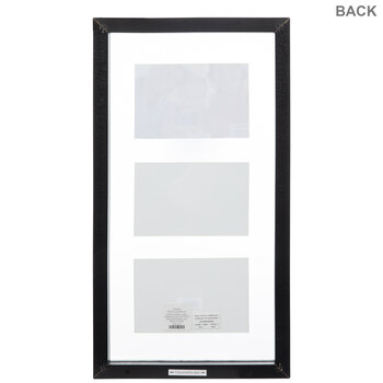 Black Wood Float Collage Wall Frame