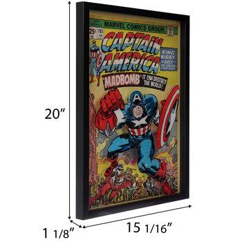 Captain America Framed Wall Decor