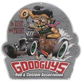 Goodguys Rod & Custom Metal Sign
