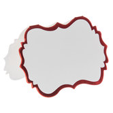 White & Red Foil Place Cards