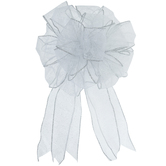Wired Edge Sheer Bow