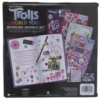 Trolls World Tour Sparkling Journal