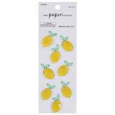 Lemon Rhinestone Stickers
