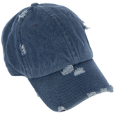 Vintage Medium Denim Baseball Cap