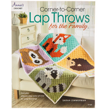 Corner-To-Corner Lap Throws For The Family