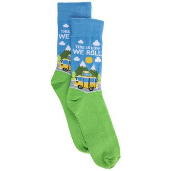 How We Roll Crew Socks - Small