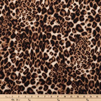 Leopard Print Apparel Fabric