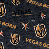 NHL Vegas Golden Knights Fleece Fabric