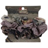 Floral Sheen Scrunchies