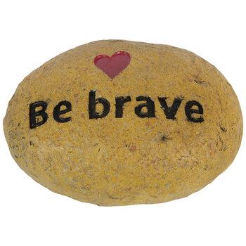 Be Brave Garden Stone
