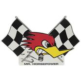Mr. Horsepower Metal Sign