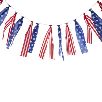 Americana Ribbon Garland