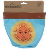 Sun Face Bag Planter