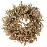 Beige Berry & Pinecone Wreath