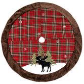 Moose & Plaid Tree Skirt