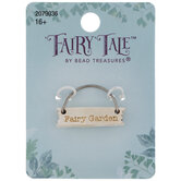 Fairy Garden Sign Charm
