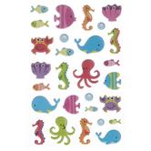 Fish Puffy Stickers