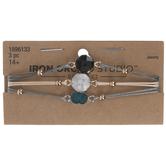 Stone Focal Bracelets