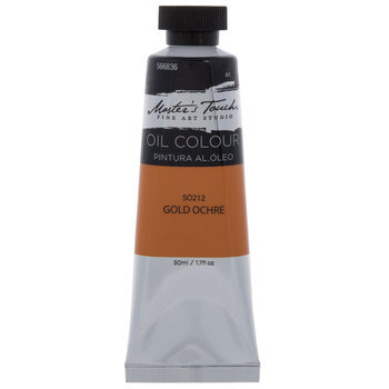 Gold Ochre Master's Touch Oil Paint - 1.7 Ounce