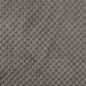 Dark Gray Bubble Micro Fleece Fabric
