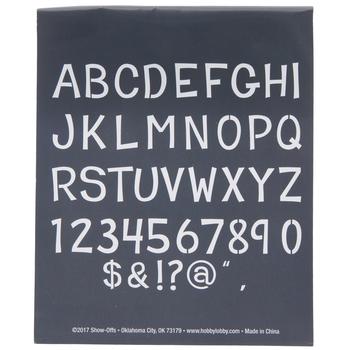 Student Uppercase Alphabet Stencils