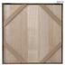 Brown Whitewash Blank Wood Wall Decor - 20