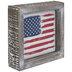 Distressed American Flag Metal Decor