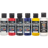 Primary Wicked Airbrush Paints - 6 Piece Set