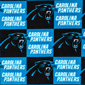 NFL Carolina Panthers Fleece Fabric
