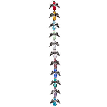 Multi-Color Angel Bead Strand