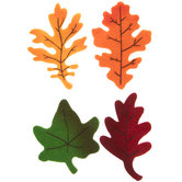 Maple Leaf Felt Stickers