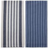 Blue & White Striped Kitchen Towels