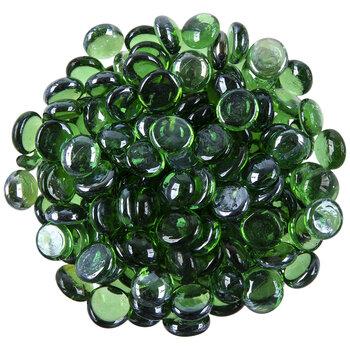 Green Glass Mosaic Gems