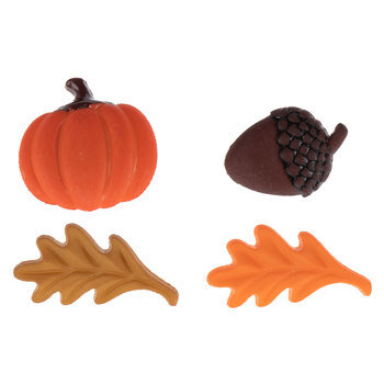 Fall Icon Shank Buttons