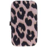 Pink Leopard Print Manicure Kit