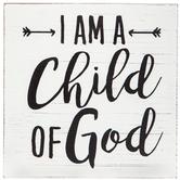 Child Of God Wood Decor