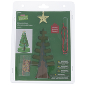 Blooming Christmas Tree Craft Kit